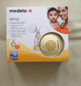 Medela swing молокоотсос электрический 2х фазный