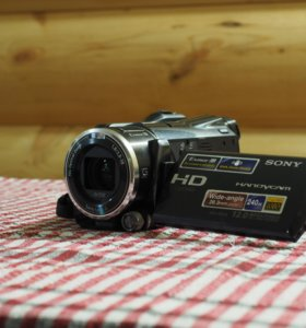 Sony HDR-XR550E + Battery + Box