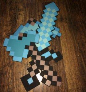 Игрушки из игры МайнКрафт