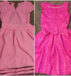 Платья и юбки для девочки рост 110-140см