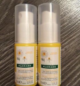 Klorane спрей для осветления волос