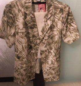 Новый льняной костюм