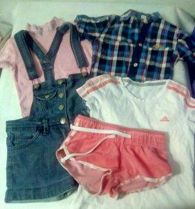 Вещи для девочки 7-8лет