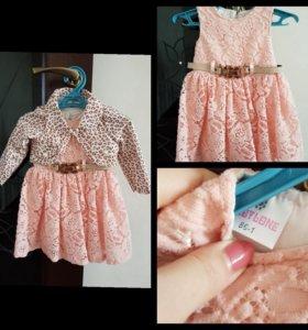 Продам красивое платье , размер 86. Цена 650р