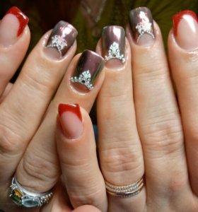 Корекция и наращивание ногтей