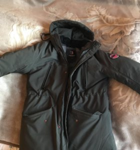 Мужская удлинённая Куртка (парка)