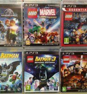 Игры LEGO (ps3)
