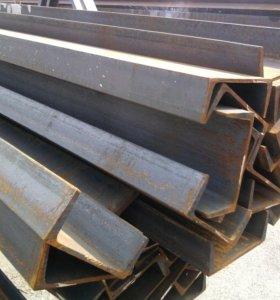 стальной швеллер 6 и 12 метр