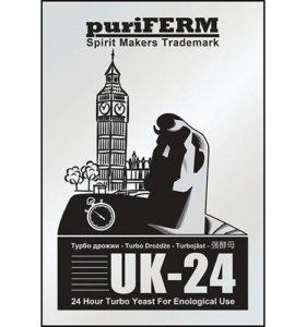 Спиртовые турбо дрожжи PuriFerm UK24
