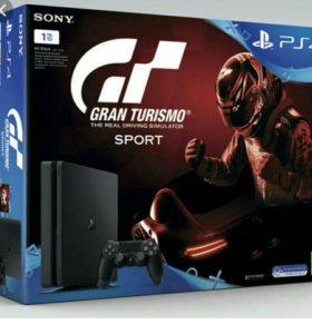 Игровая консоль PS4 1 терабайт gran turismo sport