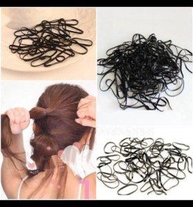 Резинки для волос, в упаковке 300 штук