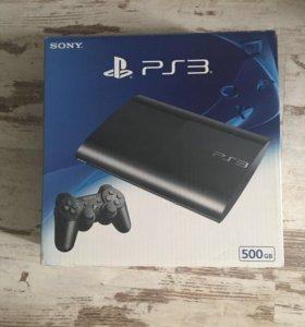 PlayStation 3 500 Gb + 9 игр