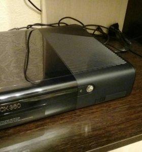 Xbox 360(500гб)+KINECT.