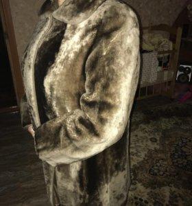 Шуба мутоновая 56 размер