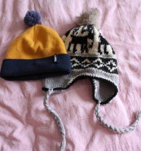 2 шапки и 2 шарфа