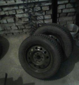 Двв колеса R14 на ВАЗ