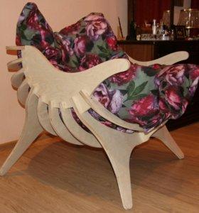 """Кресло """"Верон"""" с подушкой."""