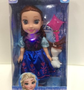 Кукла принцесса Анна музыкальная