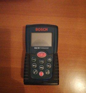 Лазерный дальномер рулетка BOSH DLE 40 Professiona