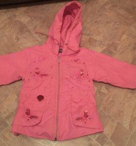 Куртка на девочку 1,5 года