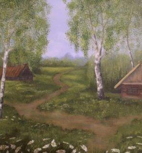 Картина маслом 40х50