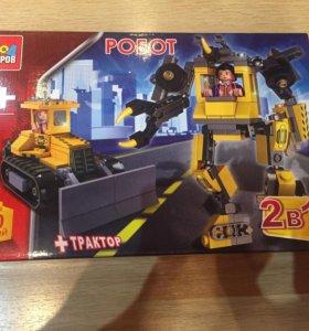 Конструктор робот+трактор