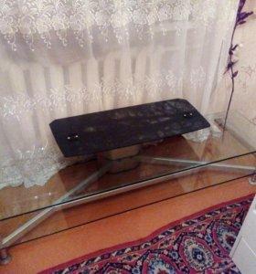 Стеклянная тумба ТВ