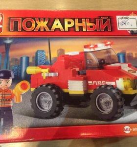 Конструктор Лего пожарный