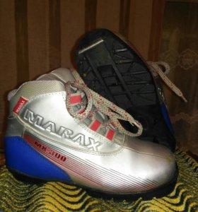 Беговые лыжные ботинки