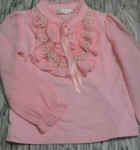 Кофточка-блузка 2-4 года