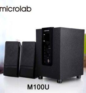 Microlab M-100U 2.1 SD,USB