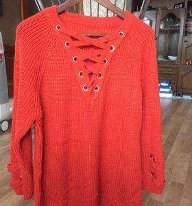 Новая туника свитер
