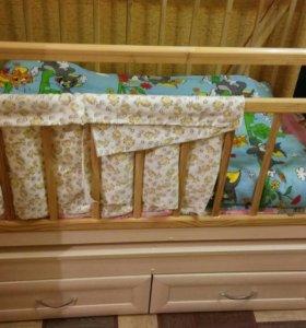 Детская кроватка (самовывоз)