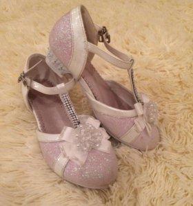 Туфли для девочек , 31 размер, Blki