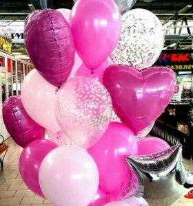 Воздушные шары, фигуры