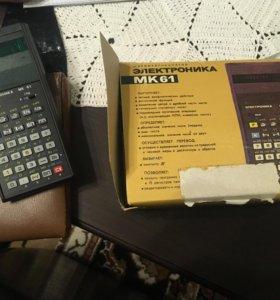 Электроника МК 61