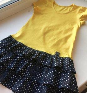 Платье для девочки 104 размер