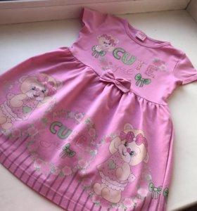 Платье для девочки 98-104