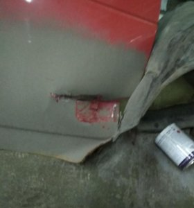 Капот и дверь ваз 21123 купе