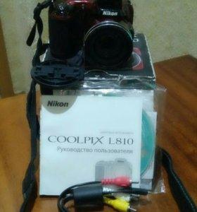 Фотокамера coolpix l810