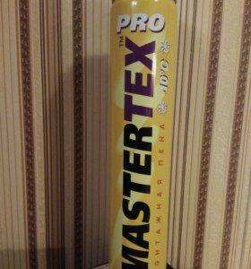 Монтажная пена MASTERTEX PRO 750мл