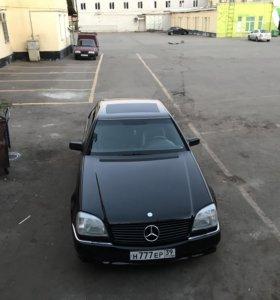 Mercedes-Benz w140 CL500 AMG