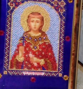Вышивка бисером икон