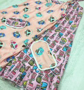 Сорочки с повязкой для сна