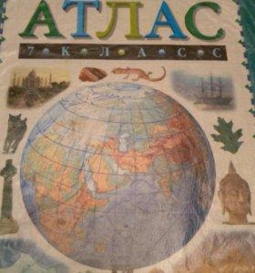 Атлас география 7
