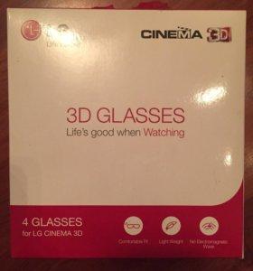 3 D очки LG