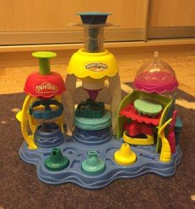 Hasbro Play-Doh Игровой набор «Фабрика пирожных»