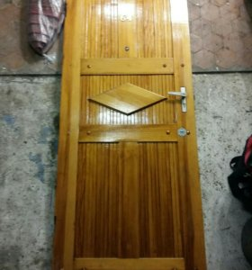 Дверь входная металическая