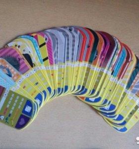 Косможетоны и Карточки с миньонами
