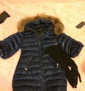 Плащ (зима)перчатки в подарок
